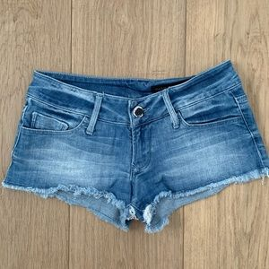 Black Orchid denim shorts-size 24